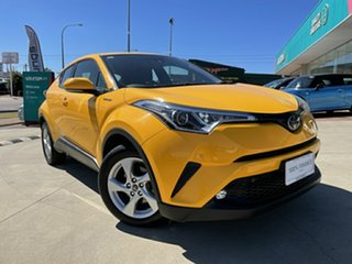 2019 Toyota C-HR NGX10R Update (2WD) Yellow Continuous Variable Wagon.