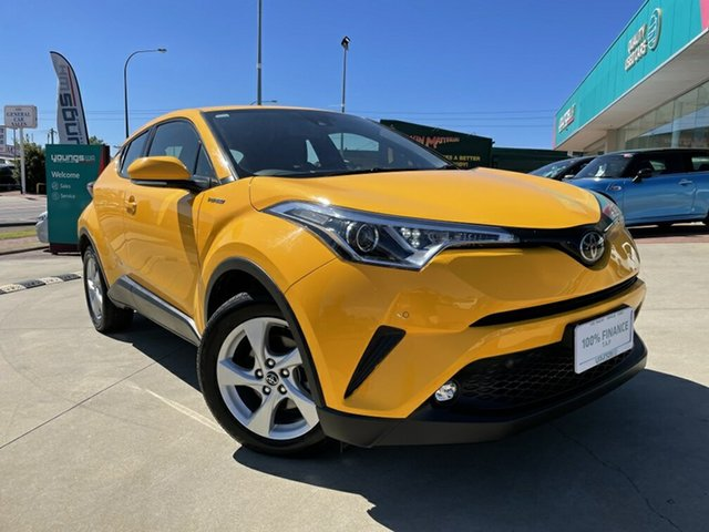 Used Toyota C-HR NGX10R Update (2WD) Victoria Park, 2019 Toyota C-HR NGX10R Update (2WD) Yellow Continuous Variable Wagon