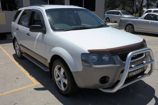 Used Ford Territory SY TX Maryville, 2007 Ford Territory SY TX White 4 Speed Sports Automatic Wagon