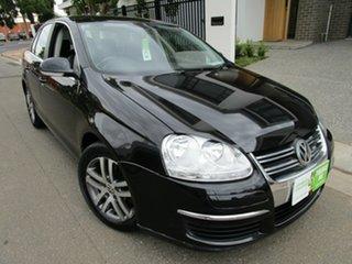 2007 Volkswagen Jetta 1KM MY08 Upgrade 2.0 FSI Black 6 Speed Tiptronic Sedan.