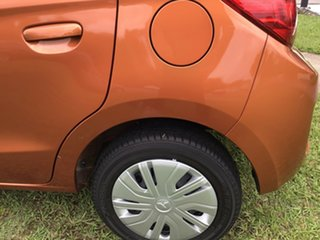 2019 Mitsubishi Mirage LA MY19 ES Orange 1 Speed Constant Variable Hatchback
