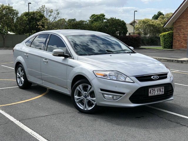 Used Ford Mondeo MC Zetec PwrShift EcoBoost Chermside, 2014 Ford Mondeo MC Zetec PwrShift EcoBoost Silver 6 Speed Sports Automatic Dual Clutch Hatchback