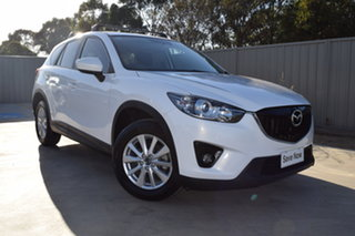 2013 Mazda CX-5 KE1031 MY13 Maxx SKYACTIV-Drive AWD Sport White 6 Speed Sports Automatic Wagon.