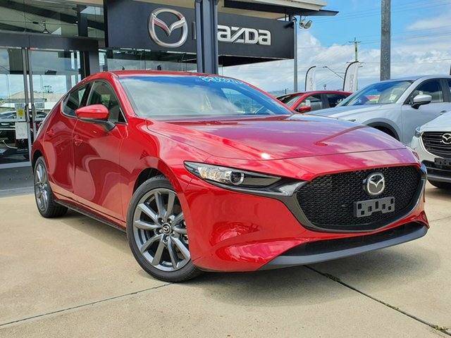 New Mazda 3 G25 GT Beaudesert, 2020 Mazda 3 G25 GT Red 6 Speed Automatic Hatchback