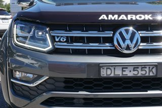 2016 Volkswagen Amarok 2H MY17 TDI550 4MOTION Perm Highline Grey 8 Speed Automatic Utility