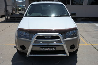 2007 Ford Territory SY TX White 4 Speed Sports Automatic Wagon.