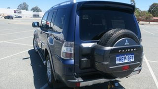 2008 Mitsubishi Pajero NS VR-X Blue 5 Speed Sports Automatic Wagon.