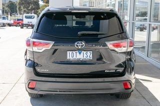 2014 Toyota Kluger GSU55R Grande AWD Black 6 Speed Sports Automatic Wagon