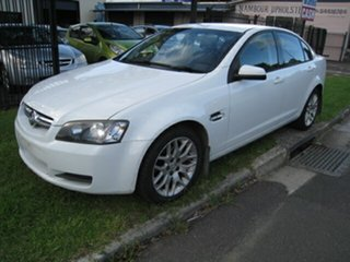 2008 Holden Commodore VE MY09.5 Omega 60th Anniversary White 4 Speed Automatic Sedan.