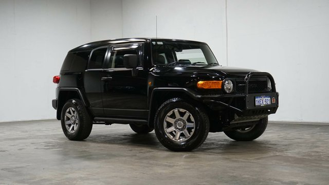 Used Toyota FJ Cruiser GSJ15R MY14 Welshpool, 2015 Toyota FJ Cruiser GSJ15R MY14 Black 5 Speed Automatic Wagon