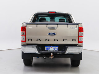 2015 Ford Ranger PX XLT 3.2 (4x4) Gold 6 Speed Automatic Double Cab Pick Up