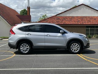 2013 Honda CR-V RM VTi Silver 5 Speed Automatic Wagon.