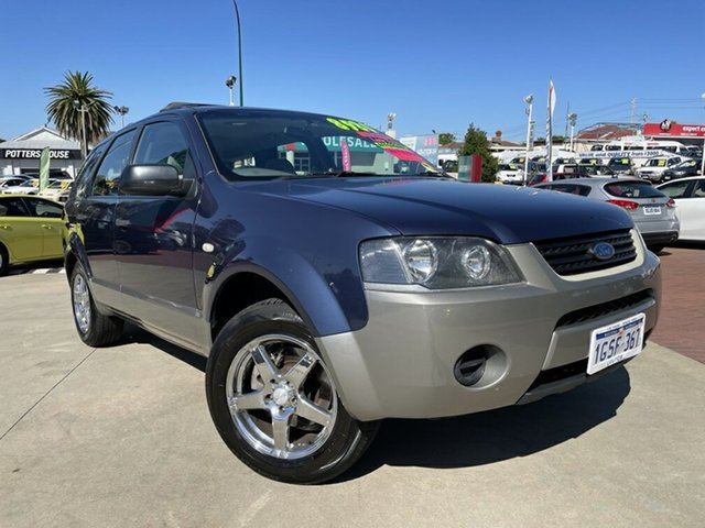 Used Ford Territory SY TX Victoria Park, 2008 Ford Territory SY TX Blue 4 Speed Sports Automatic Wagon