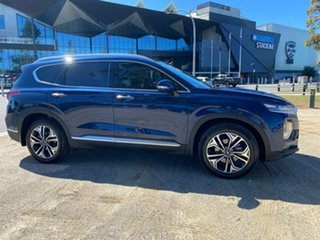 2020 Hyundai Santa Fe TM.2 Highlander Blue Sports Automatic Wagon.