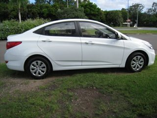 2015 Hyundai Accent RB2 Active White 6 Speed Manual Sedan