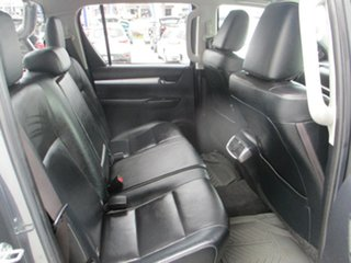 2017 Toyota Hilux GUN126R MY17 SR5+ (4x4) Grey 6 Speed Manual Dual Cab Utility