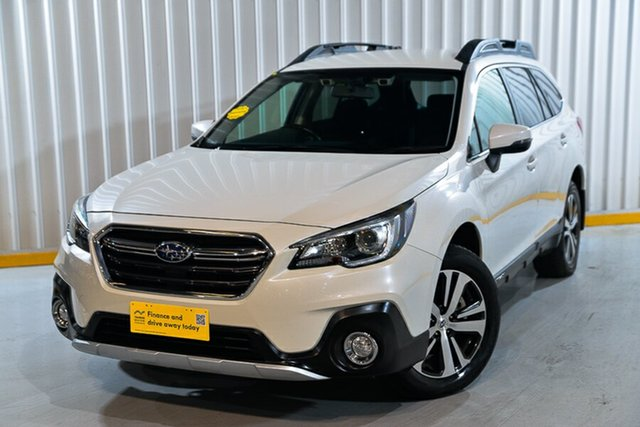 Used Subaru Outback B6A MY18 2.5i CVT AWD Hendra, 2018 Subaru Outback B6A MY18 2.5i CVT AWD White 7 Speed Constant Variable Wagon