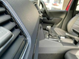 2019 Volkswagen Amarok 2H MY20 TDI580 4MOTION Perm Highline Black Red 8 Speed Automatic Utility