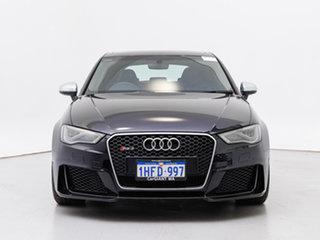 2016 Audi RS 3 8V Sportback Quattro Black 7 Speed Auto Dual Clutch Hatchback.