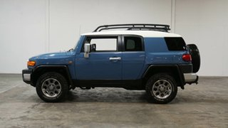 2013 Toyota FJ Cruiser GSJ15R Military Blue 5 Speed Automatic Wagon