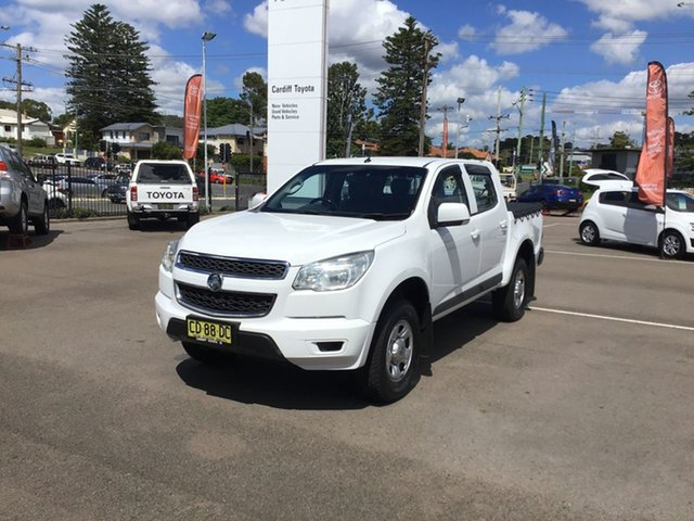 Used Holden Colorado RG MY15 LS Crew Cab 4x2 Cardiff, 2015 Holden Colorado RG MY15 LS Crew Cab 4x2 White 6 Speed Sports Automatic Utility