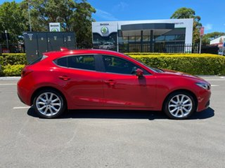 2015 Mazda 3 BM5438 SP25 SKYACTIV-Drive GT Red 6 Speed Sports Automatic Hatchback