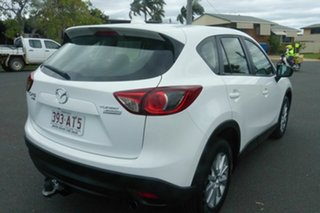 2015 Mazda CX-5 White 6 Speed Auto Active Select Wagon.