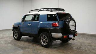 2013 Toyota FJ Cruiser GSJ15R Military Blue 5 Speed Automatic Wagon.