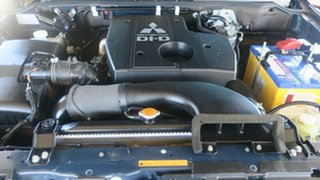 2008 Mitsubishi Pajero NS VR-X Blue 5 Speed Sports Automatic Wagon