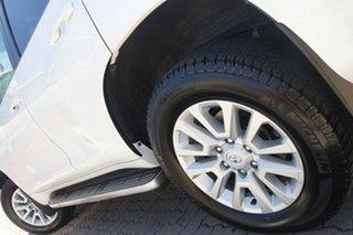 2014 Toyota Landcruiser Prado KDJ150R MY14 Kakadu Pearl White 5 Speed Sports Automatic SUV