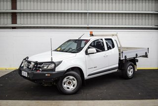 2016 Holden Colorado RG MY17 LS White 6 Speed Sports Automatic Cab Chassis.
