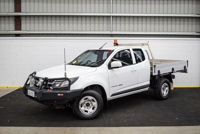 Used Holden Colorado RG MY17 LS Canning Vale, 2016 Holden Colorado RG MY17 LS White 6 Speed Sports Automatic Cab Chassis