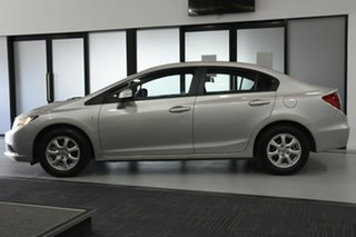 2015 Honda Civic Series 2 MY15 VTi Silver 5 Speed Automatic Sedan