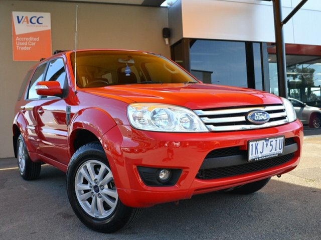 Used Ford Escape ZD Fawkner, 2008 Ford Escape ZD Red 4 Speed Automatic SUV