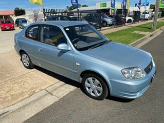 2005 Hyundai Accent LC MY04 GL Blue 5 Speed Manual Hatchback.