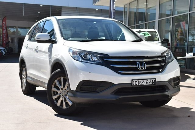 Used Honda CR-V RM MY15 VTi Navi Blacktown, 2014 Honda CR-V RM MY15 VTi Navi White 5 Speed Automatic Wagon