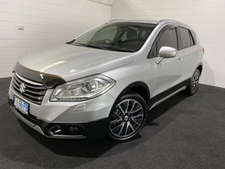 2016 Suzuki S-Cross JY GLX Light Silver/cloth 7 Speed Constant Variable Hatchback