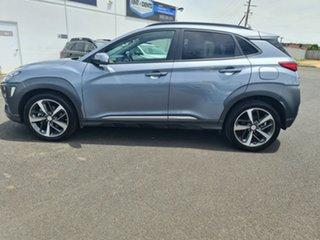 2018 Hyundai Kona OS MY18 Highlander D-CT AWD Grey 7 Speed Sports Automatic Dual Clutch Wagon
