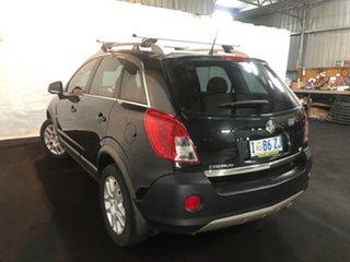 2013 Holden Captiva CG MY13 5 LT Black 6 Speed Manual Wagon.