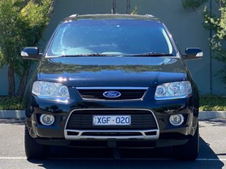 2009 Ford Territory SY MkII Ghia RWD Black 4 Speed Sports Automatic Wagon.