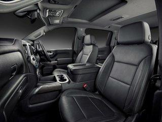 2020 Chevrolet Silverado T1 MY21 1500 Pickup Crew Cab LTZ Premium Silver Ice 10 Speed Automatic.