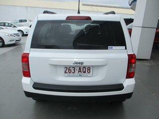 2015 Jeep Patriot MK MY16 Sport (4x2) White 6 Speed Automatic Wagon.