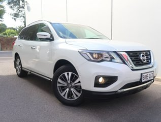 2016 Nissan Pathfinder R52 Series II MY17 ST-L X-tronic 4WD White 1 Speed Constant Variable Wagon.