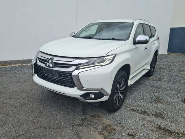 Used Mitsubishi Pajero Sport QE MY16 Exceed North Rockhampton, 2015 Mitsubishi Pajero Sport QE MY16 Exceed White 8 Speed Sports Automatic Wagon
