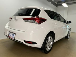 2016 Toyota Corolla ZRE182R MY15 Ascent Sport White 6 Speed Manual Hatchback.