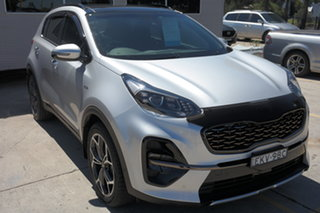 2019 Kia Sportage QL MY19 GT-Line AWD Silver 8 Speed Sports Automatic Wagon.