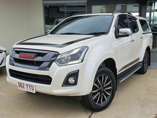 2019 Isuzu D-MAX X-Runner White 6 Speed Automatic Dual Cab