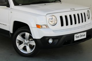 2016 Jeep Patriot MK MY16 Limited White 6 Speed Sports Automatic Wagon