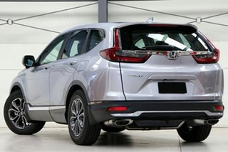2020 Honda CR-V RW MY21 VTi FWD X Lunar Silver 1 Speed Constant Variable Wagon.