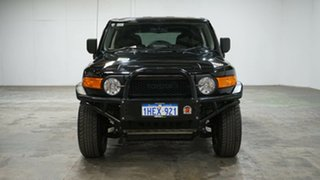 2015 Toyota FJ Cruiser GSJ15R MY14 Black 5 Speed Automatic Wagon